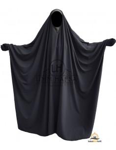 Big Jilbab Saoudien Umm Hafsa Col V - Gris