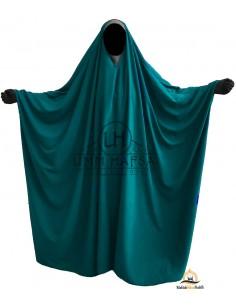 Big saudischer Jilbab Umm Hafsa V-Ausschnitt - Grüne Ente