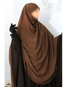 Khimar/Hijab Hafsa de Umm Hafsa - Cannelle