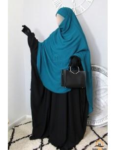 Khimar/Hijab Hafsa de Umm Hafsa - Vert canard