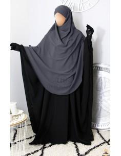 Hijab Hafsa von Umm Hafsa – Grau