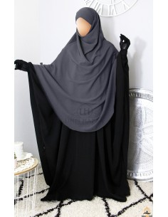 Khimar Hafsa from Umm Hafsa – Grey