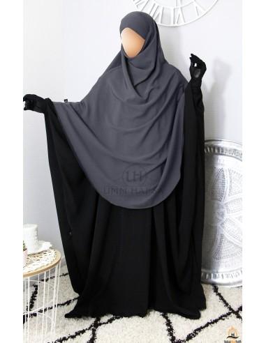Khimar Hafsa from Umm Hafsa – Grey