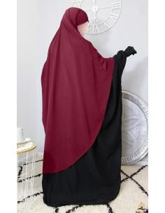 Hijab Hafsa von Umm Hafsa – Burgund