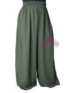 Hosen breit Hafsa von Umm Hafsa – Khaki
