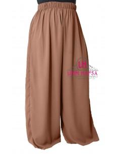 Hosen breit Hafsa von Umm Hafsa – Zimtfarbe