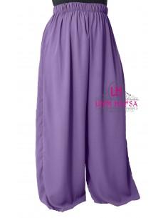 Hosen breit Hafsa von Umm Hafsa – Aubergine farbe