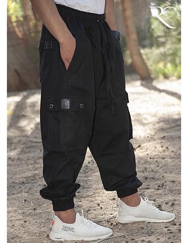 Cargo Harem pants Rayane – Black