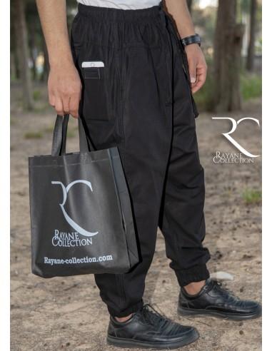 Sarouel Pantalon Chino Rayane - Noir