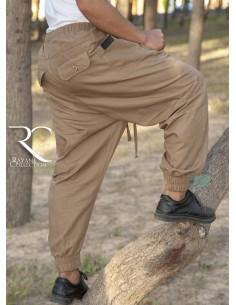 Sarouel Pantalon Chino Rayane - Beige