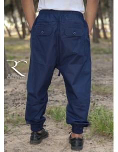 Sarouel Pantalon Chino Rayane - Bleu