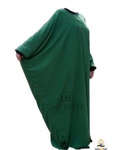 Abaya Lycra Umm Hafsa - Vert Sapin