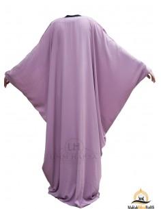 Abaya Lycra Umm Hafsa - Old Pink