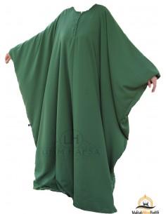 Abaya Maryam Umm Hafsa - Grüne Tannenfarbe