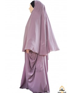 Abaya /Hijab Maryam Umm Hafsa - Old Pink