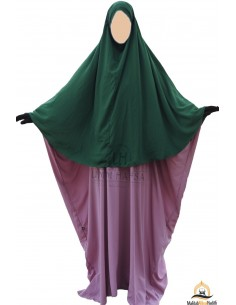 Hijab / khimar Cape Umm Hafsa - Fir Green