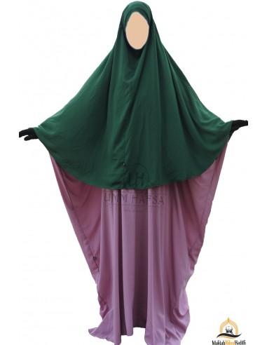 Hijab / khimar Cape Umm Hafsa - Vert Sapin