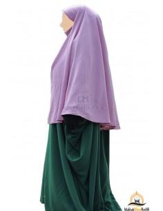 Hijab / khimar Cape Umm Hafsa - Alte Rosafarbene
