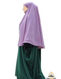 Hijab / khimar Cape Umm Hafsa - Vieux Rose