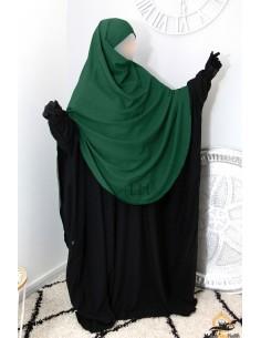 Khimar/Hijab Hafsa de Umm Hafsa - Vert Sapin