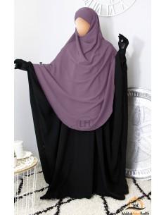 Khimar/Hijab Hafsa de Umm Hafsa - Vieux Rose