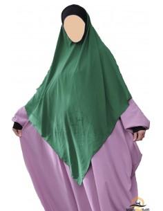 Hijab / Khimar Lycra Umm Hafsa - Vert sapin