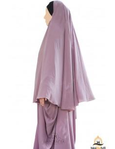 Hijab / Khimar Maryam Umm Hafsa - Vieux Rose