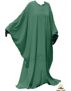 Abaya schmetterling Umm Hafsa  - Grüne Tannenfarbe