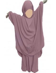 jilbab Kinderhose Umm Hafsa - Alte Rosafarbene