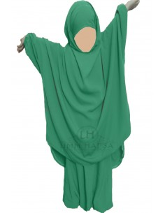 jilbab Kinderhose Umm Hafsa - Grüne Tannenfarbe