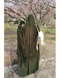 "Big jilbab two piece ""SKIRT"" umm hafsa – Green"