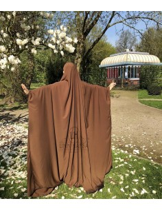Big jilbab Saoudien Umm Hafsa - Cannelle