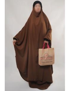 "Zweiteilige Jilbab Hafsa ""Rock"" Umm Hafsa– Zimtfarbe"