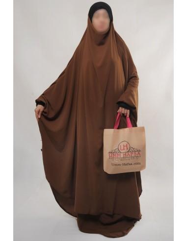"Two Piece Jilbab Hafsa ""Skirt"" Umm Hafsa– Cinnamon"