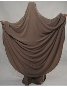 "Zweiteilige Jilbab Hafsa ""Rock"" Umm Hafsa– Taupe"