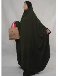 """Jilbab Hafsa 2 pieces """"jupe"""" Umm Hafsa – Kaki"""