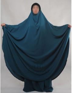 "Jilbab Hafsa 2 pieces ""jupe"" Umm Hafsa – Vert canard"