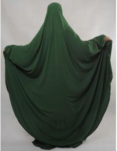 """Zweiteilige Jilbab Hafsa """"Rock"""" Umm Hafsa– Grüne Tannenfarbe"""
