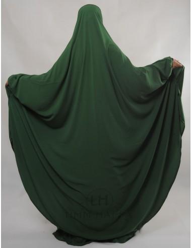 """Two Piece Jilbab Hafsa """"Skirt"""" Umm Hafsa– Fir Green"""
