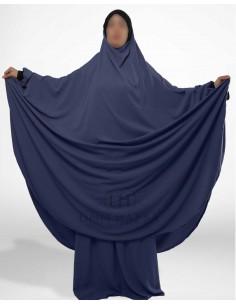 """Jilbab Hafsa 2 pieces """"jupe"""" Umm Hafsa – Bleu"""