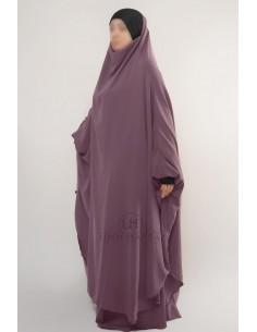 """Jilbab Hafsa 2 pieces """"jupe"""" Umm Hafsa – Vieux Rose"""