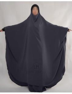 """Jilbab Hafsa 2 pieces """"jupe"""" Umm Hafsa – Gris"""
