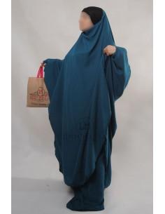 "Two Piece Jilbab Hafsa ""Sirwel"" Umm Hafsa– Green Duck"