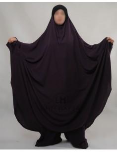 """Two Piece Jilbab Hafsa """"Sirwel"""" Umm Hafsa– Eggplant"""
