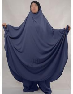 """Jilbab Hafsa 2 pieces """"Sarouel"""" Umm Hafsa – Bleu"""
