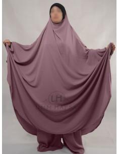 """Jilbab Hafsa 2 pieces """"Sarouel"""" Umm Hafsa – Vieux Rose"""