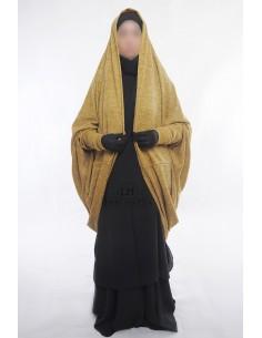 Gilet sur jilbab Maryam de Umm Hafsa - Miel