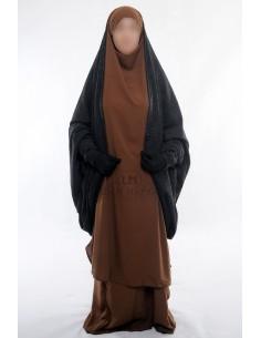 Gilet sur jilbab Maryam de Umm Hafsa - Noir