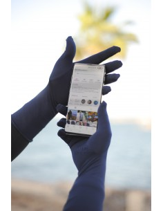 Touchscreen Gloves  Umm Hafsa - Blue