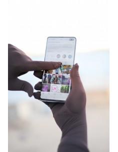 Touchscreen-Handschuhe Umm Hafsa - Braun